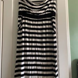 Lane Bryant strapless maxi dress 18/20